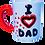 Thumbnail: I Love Dad Mug