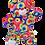 """Thumbnail: Rainbow the Bear (8"""")"""