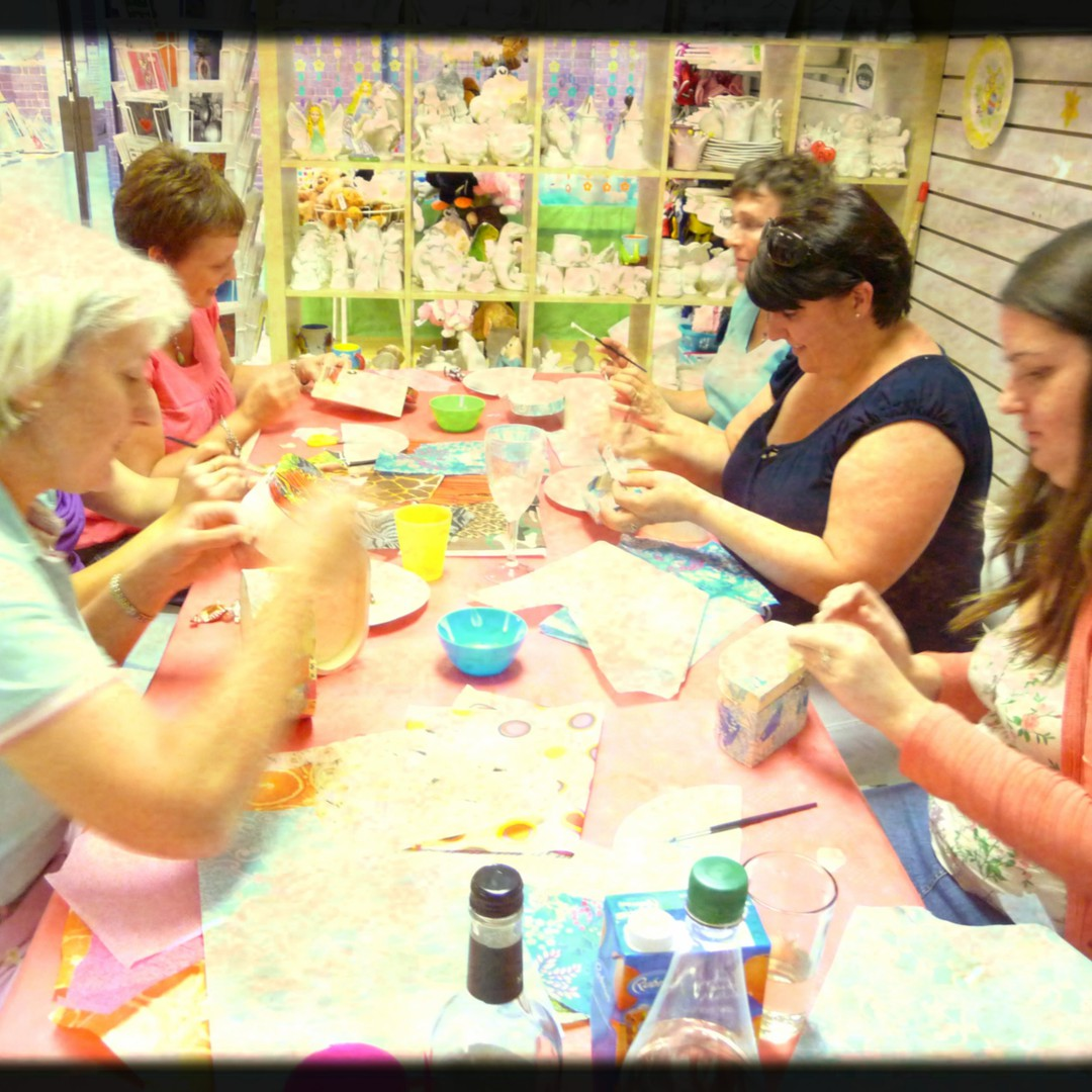 ladies crafty session