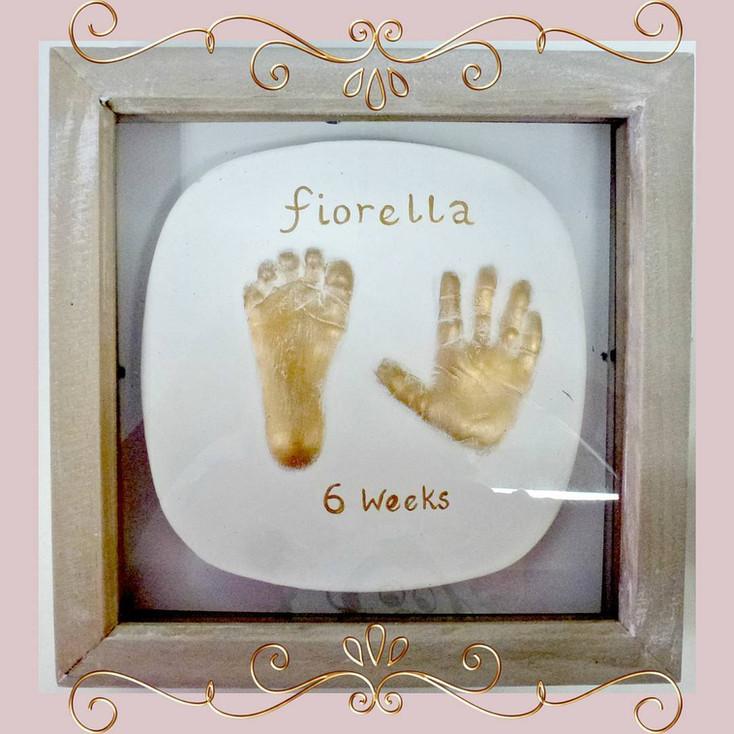Baby plaster 2D outprints