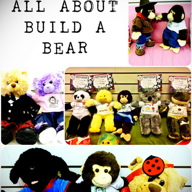 Collage of build a bears