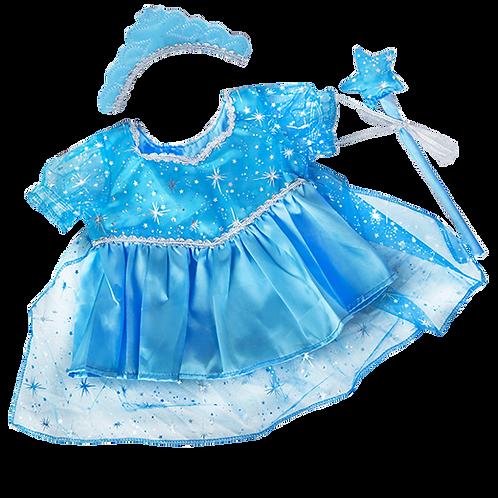 "Snow Princess Dress (8"")"