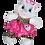 "Thumbnail: Cute Leopard Owl Outfit (8"")"