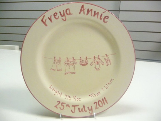 new baby personalised gift