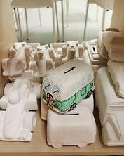 assortment-vehicles-pottery-bisque
