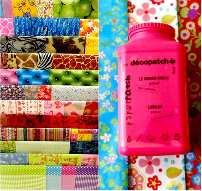 Wide selection of decopatch items