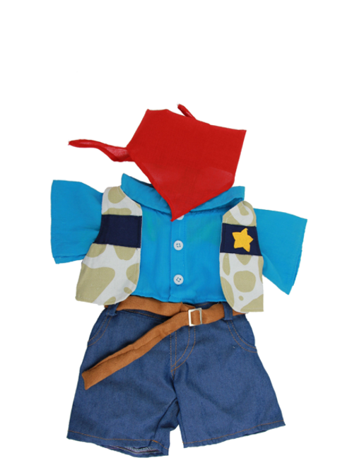 """Cowboy Outfit (10"""")"""
