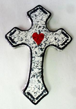 pottery cross