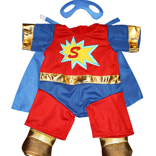 """Superbear Costume With Mask (8"""")"""