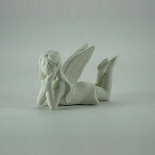 Fairy Girl Laying Figurine
