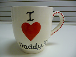 i love daddy mug