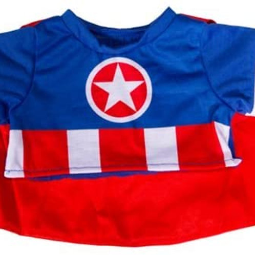 "Captain America Outfit (16"")"