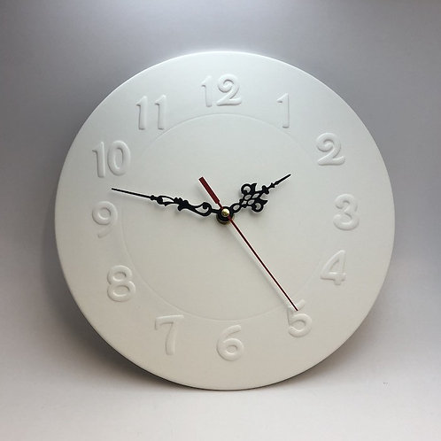 Clock Face With Numbers