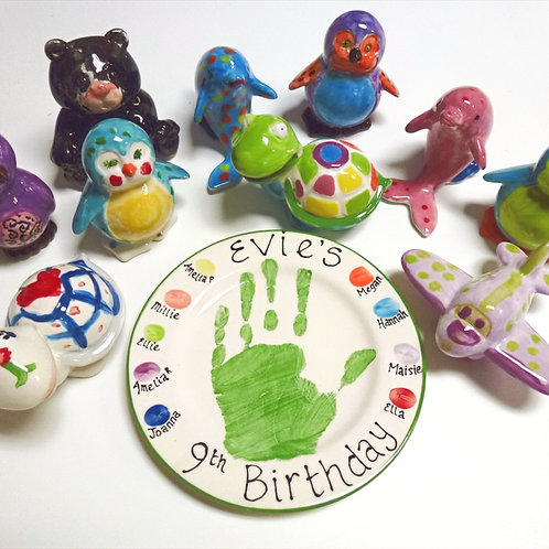 Kids Party Package - Pottery Painting