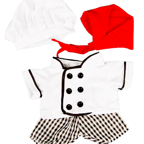 """Chef Outfit (8"""")"""