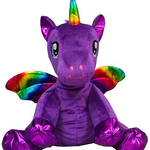 "Luna the Purple Winged Unicorn (8"")"