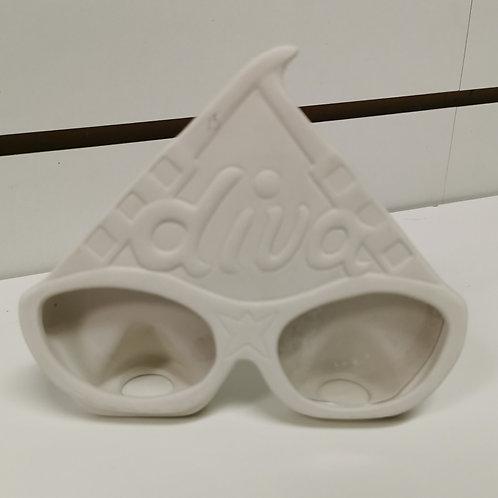 Diva Glasses Picture Frame