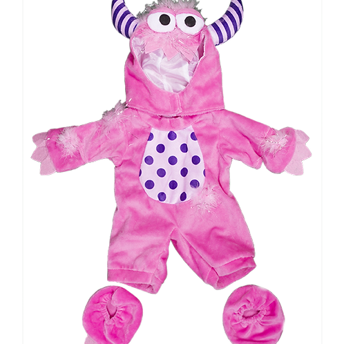 "Pink Monster Costume (8"")"
