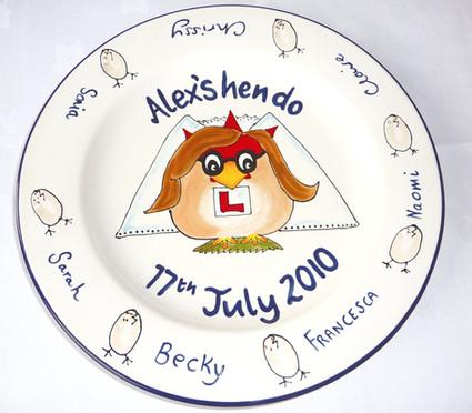 Hen do plate