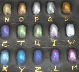 Colour selection of outprints