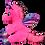 "Thumbnail: Nova the Pink Winged Unicorn (8"")"