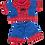 "Thumbnail: Spiderbear PJ's (16"")"