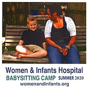 Women and Infants Babysitting Camp