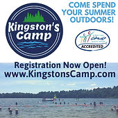 Kingstons Camp, outdoors, boating, archery, arts