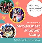 Mobile Quest, computer, digital, programming, STEM, movie making