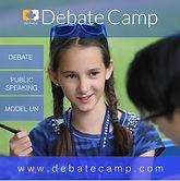 Debate Camp, public speaking, model un
