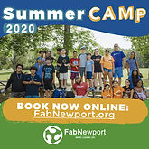 Explorers Camp Fab Newport, outdoor adventures, learning