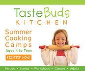 TasteBuds Summer, cooking, kitchen skills, baking