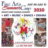 Mount Saint Charles Summer, Fine Arts, sports, dance, music, drama