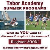 Tabor Academy Summer Programs