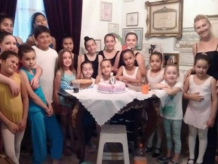 Examen y Fin de Año en Escuela de Danza La Faraona