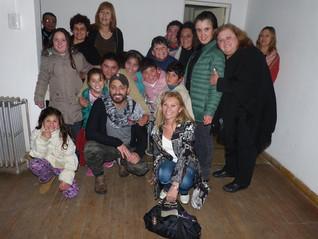 Alumnos de Expresión-Danza-Terapia con Hernán Piquín