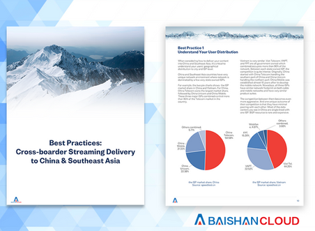 eBook: Best Practices of Cross-border Streaming Delivery to China & Southeast Asia