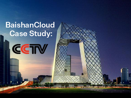 CCTV Empowers Live Events with BaishanCloud Streaming Solutions