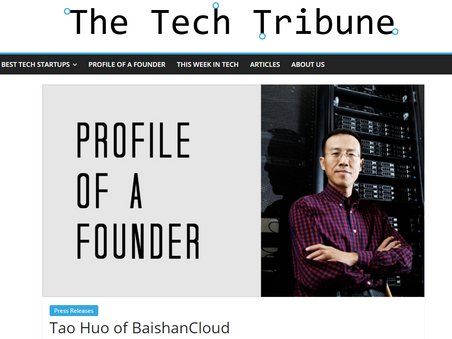 Tao Huo: Profile of A Founder