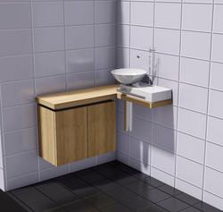 WC Verbau
