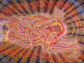 Art by Alex Grey and Tantric sex