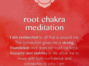 Chakra meds Root to Crown