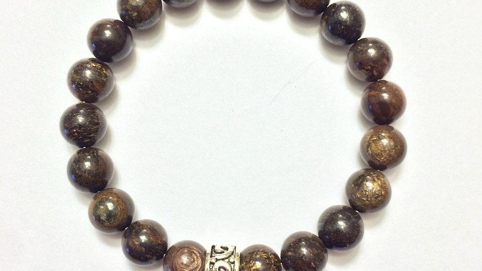 4mm Bronzite Bracelet