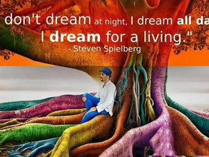 Tantric quote of course. Life is but a dream, dreamer.