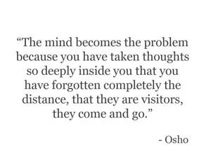 Mind mind no mind osho Isness of business