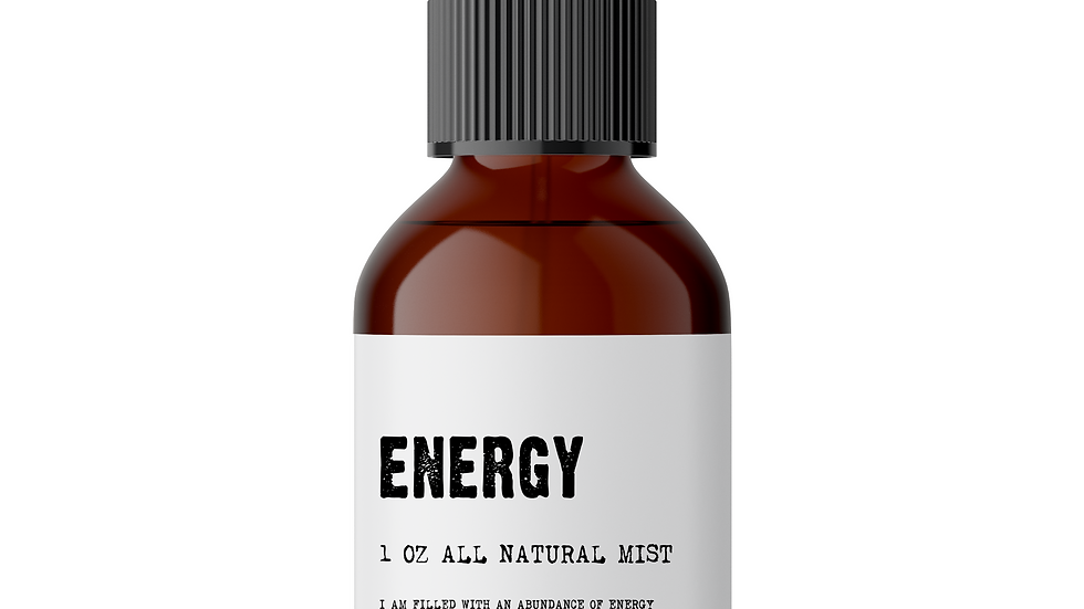 Energy - Meditation/Body Mist - Made With All Natural Ingredients