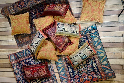 A Set Of Three 17th Century Tapestry Cushions