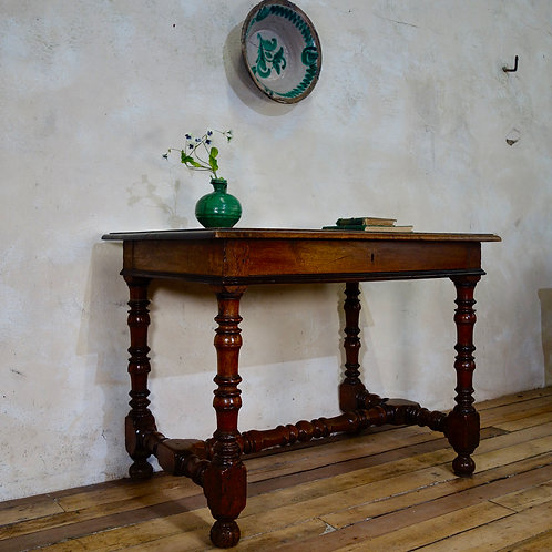 An 18th Century North Italian Fruitwood Side Table