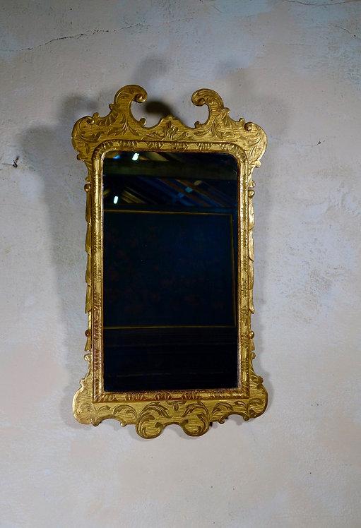George I Style Gesso Wall Mirror