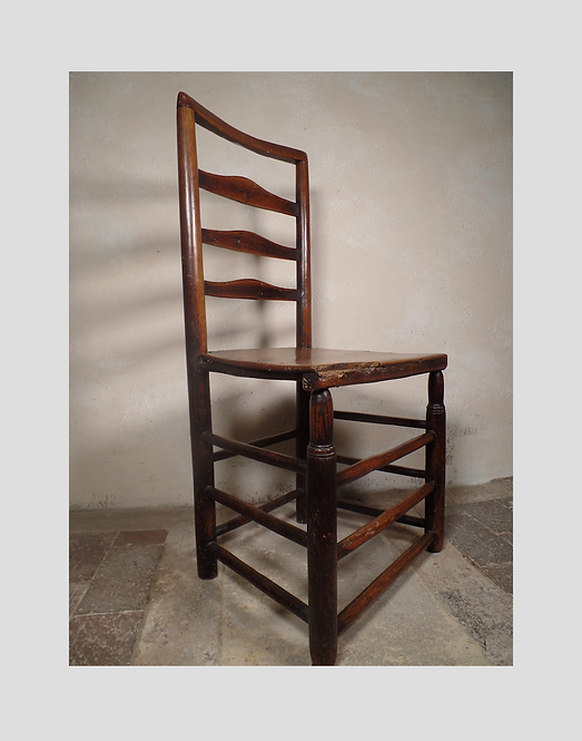 Antique vernacular side chair